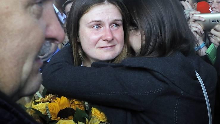 Nach ihrer Entlassung aus der Haft ist die in den USA wegen illegaler Agententätigkeit verurteilte Russin Maria Butina  nach Moskau zurückgekehrt.