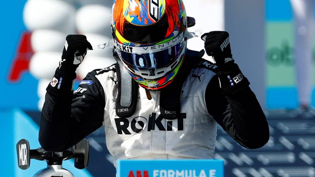 Mortara dank Podestplatz wieder im Titelrennen