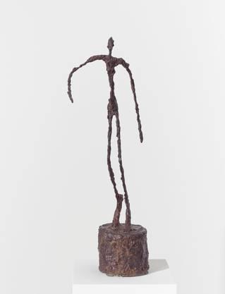 Auch er wird ausgeliehen: «Homme qui chavire» von Giacometti.  ©Succession Alberto Giacometti / 2019, ProLitteris,