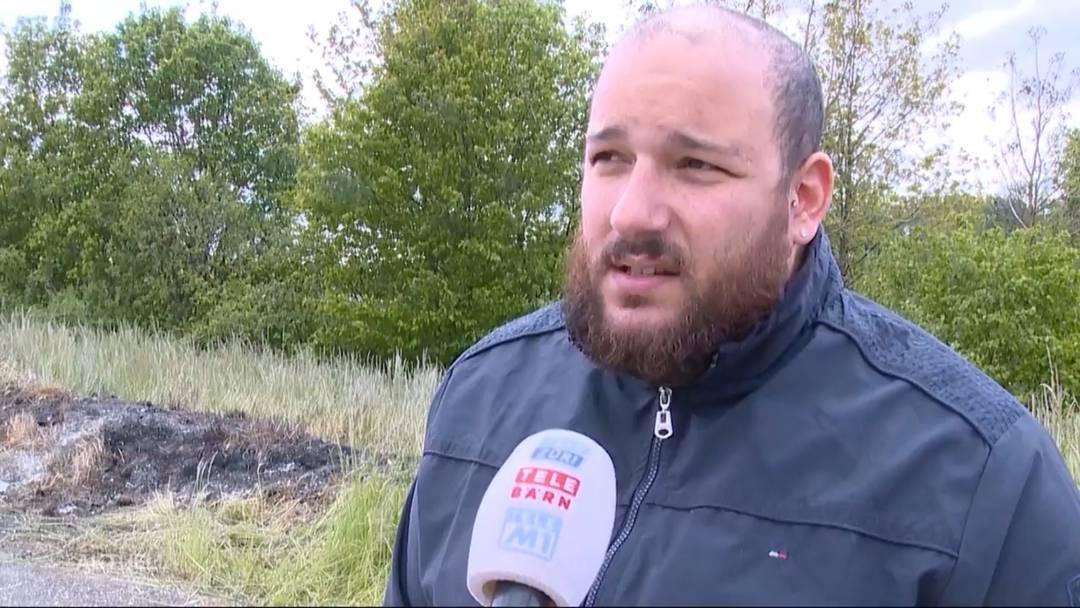 Flugzeugabsturz Birrfeld: «Wir haben Lastwagen angehalten, um an Feuerlöscher zu kommen»
