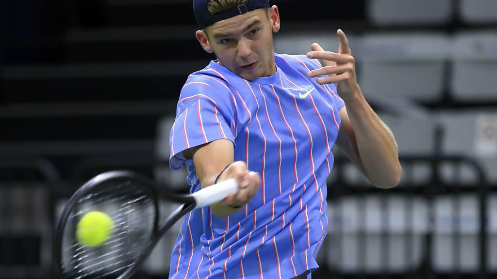Jérôme Kym bestreitet in New York sein letztes Turnier bei den Junioren