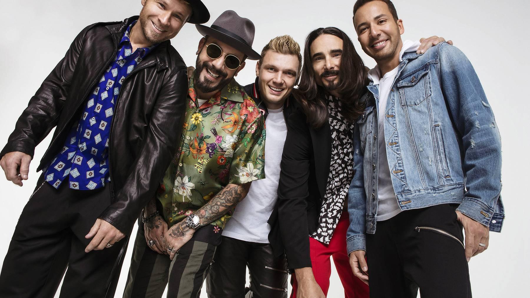 Die Backstreet Boys kommen wieder in die Schweiz