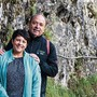 Desirée und Landammann Markus Dieth im letzten Herbst im Klöntal. Auch heuer bleiben Dieths in der Schweiz.