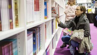 Der 30. Genfer Büchersalon lockte in diesem Jahr 94'000 Personen an.