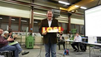 Ein «Repla-Kind»: Der neue Präsident Roger Siegenthaler.rm