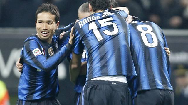 Inter früh auf Siegkurs