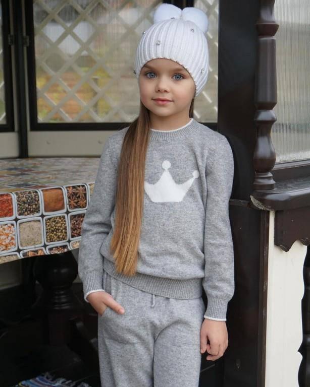 Kindermodel Anastasiya Knyazeva