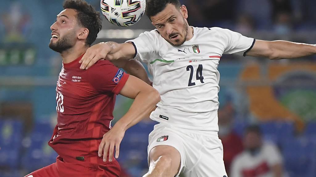 Italien im Match gegen die Schweiz ohne Florenzi
