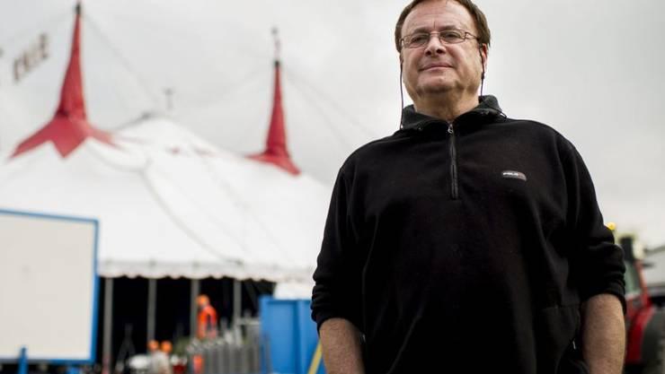 Schminken für die Manage dauert bei ihm drei Minuten: Fredy Knie Junior. Der Zirkus-Direktor feiert seinen 70. Geburtstag. (Archivbild)