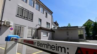Im hinteren Bereich des Bernheim-Gebäudes an der Kirchgasse 17 wird bis Frühling 2020 ein zweistöckiger Anbau realisiert.