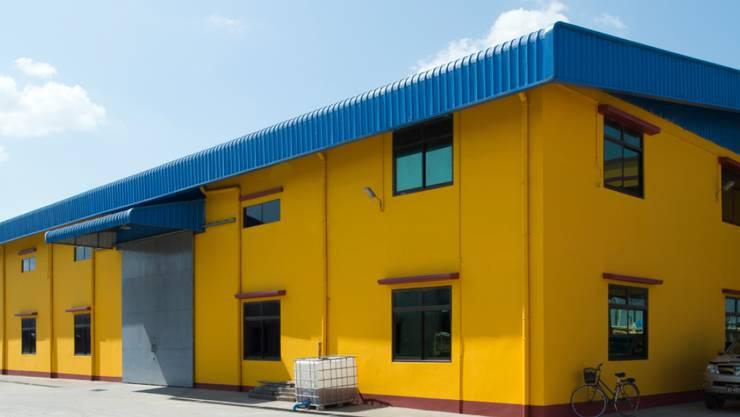 Sikas neue Fabrik in Myanmar.