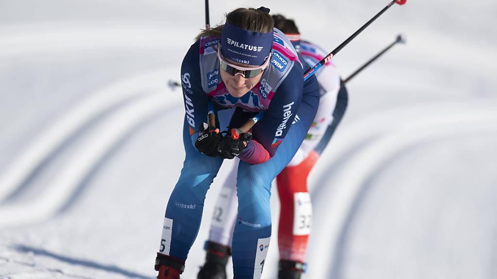 Nadine Fähndrich lief zum Abschluss der Weltcup-Saison auf Platz 10.
