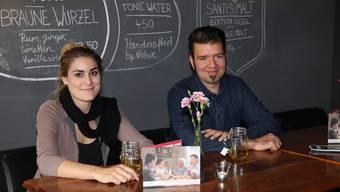Sie lancieren ein neues Format: Gina Sträuli und Stephan Filati sind die Gastgeber beim Filmdinner im Kulturhaus Odeon.