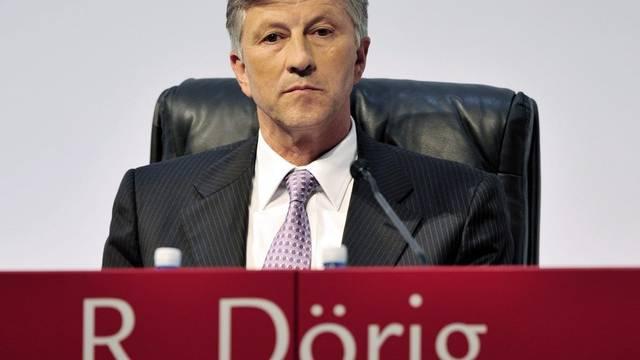 Swiss-Life-Präsident Rolf Dörig rechnet mit Rentenalter 70 (Archiv)
