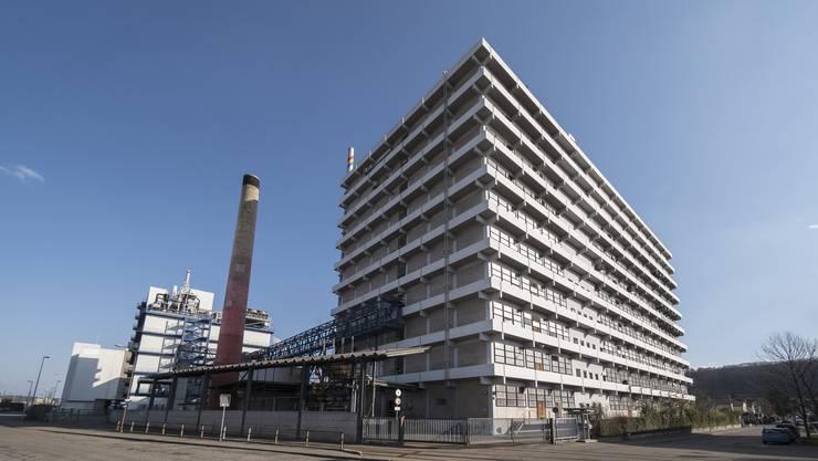 Die Chemiefirma Rohner AG in Pratteln.