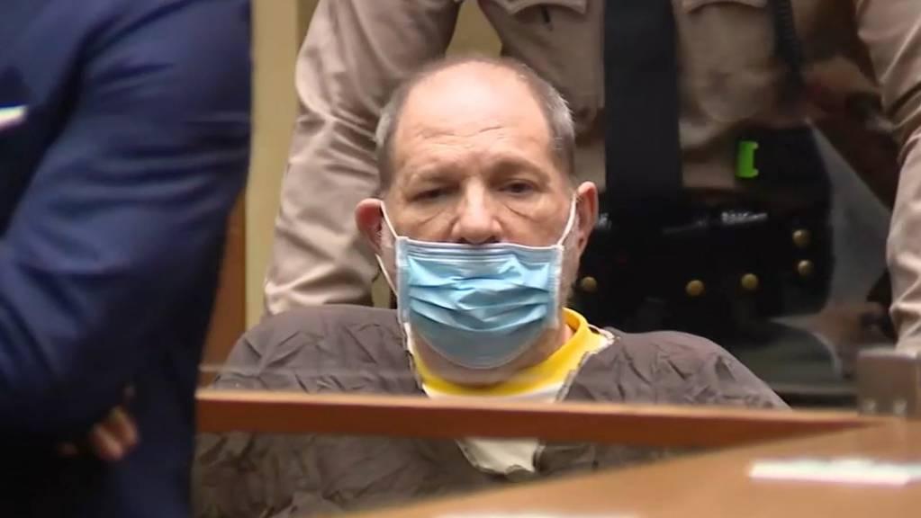 Harvey Weinstein, der 69-jährige verurteilte Vergewaltiger und in Ungnade gefallenen Film-Mogul.