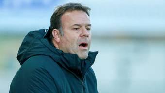 Trainer Patrick Rahmen will mit dem FC Aarau auch zum Rückrunden-Auftakt weiter an der Aufholjagd arbeiten.