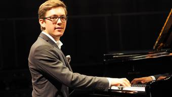 Schon seit er sechs Jahre alt ist sitzt Maurice Imhof regelmässig am Klavier.
