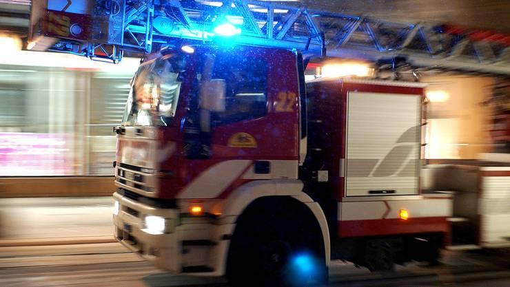 Die Feuerwehr Wettingen konnte den Brand löschen. (Symbolbild)