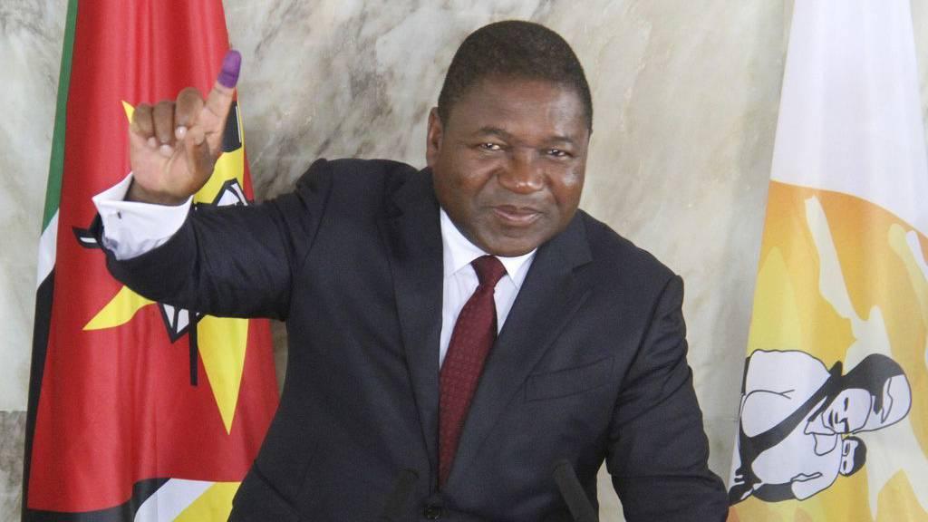 Präsident Filipe Nyusi gewinnt Wahlen in Mosambik deutlich