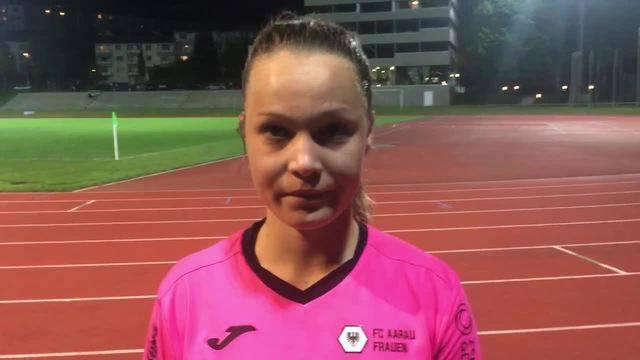Videointerview mit Nicole Tiller nach FC Luzern - FC Aarau Frauen