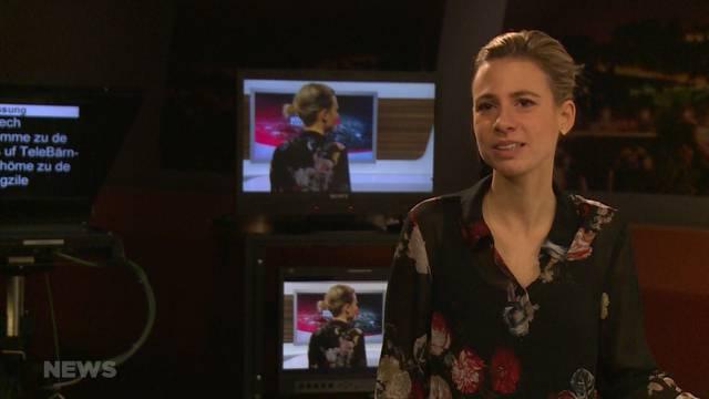 Neues Gesicht im TeleBärn-Newsteam