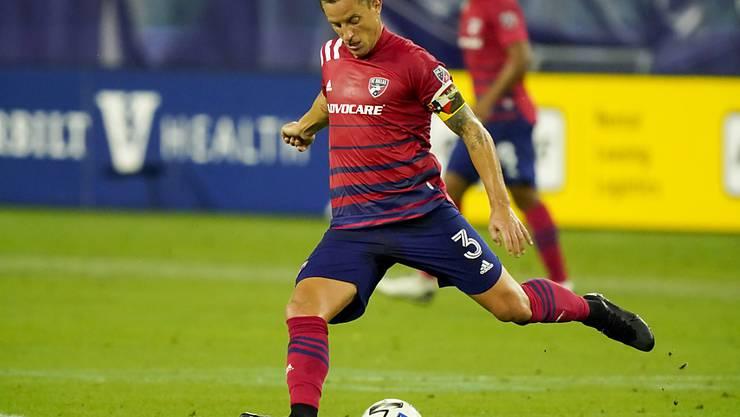 Kurzer, aber entscheidender Einsatz für den FC Dallas: Captain Reto Ziegler