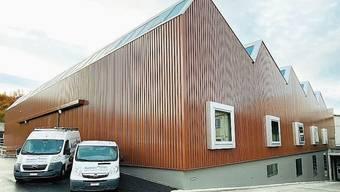 Die neue Werkhalle hat 7,5 Millionen Franken gekostet.