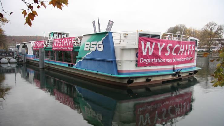 Die «Siesta» dient wieder für vier Tage als «Wyschiff».