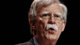 ARCHIV - John Bolton, damaliger nationaler Sicherheitsberater der USA, im Sommer 2019. Foto: Patrick Semansky/AP/dpa