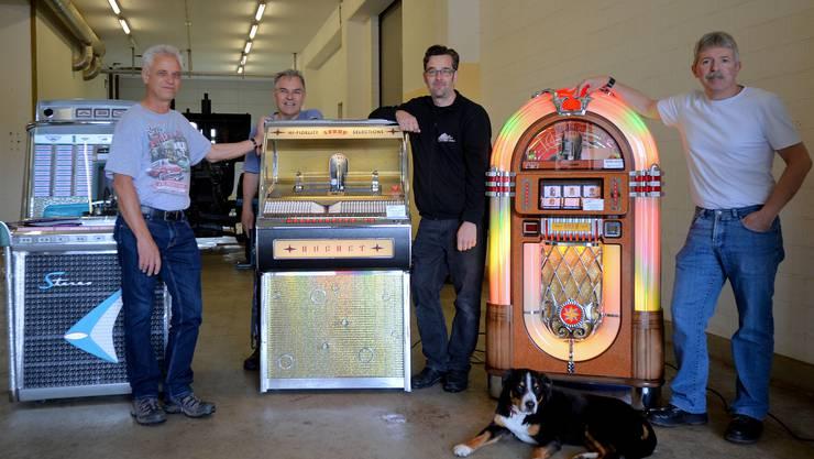 Kultobjekte wie die Jukeboxes gehören natürlich auch zum «American Way of Life».