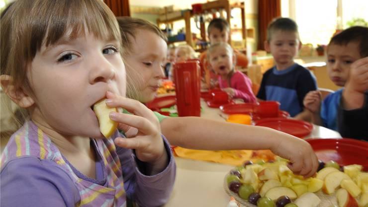 Die Kindergärtler in Neuenhof dürfen sich auf neue Kindergarten freuen. (Symbolbild)