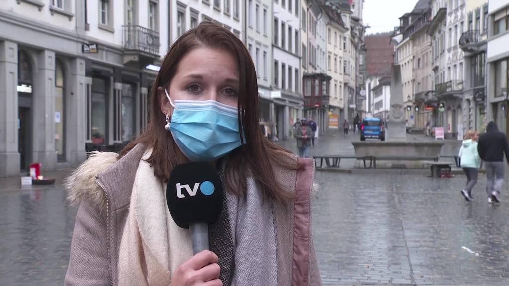 Maskenpflicht im Freien: Einschätzungen von TVO-Reporterin