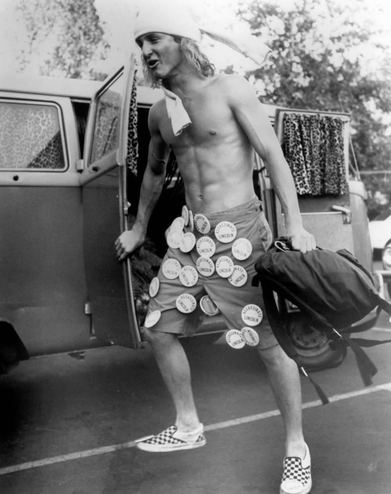 Sean Penn als Surfer mit den berühmten Vans.