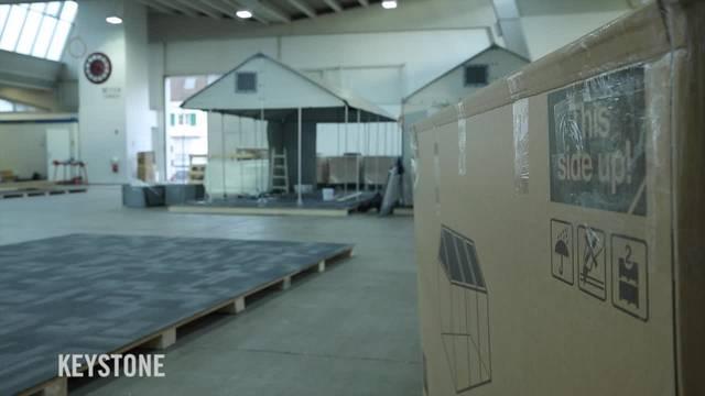 Messehalle in Zürich wird Asylunterkunft