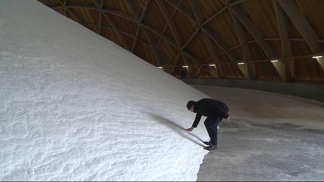 Gigantische Mengen an Salz auf Schweizer Strassen