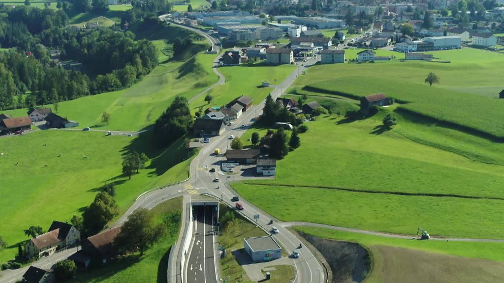 Eröffnung: Umfahrungsstrasse Bütschwil für Verkehr frei