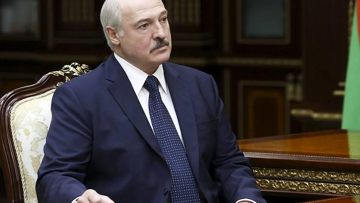 Alexander Lukaschenko, Präsident von Belarus (Weißrussland). Foto: Nikolai Petrov/BelTA/AP/dpa