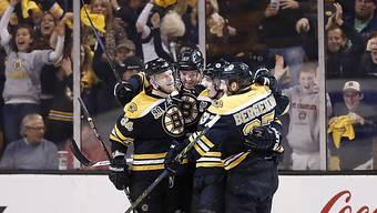 Die Boston Bruins stehen in der nächsten Runde