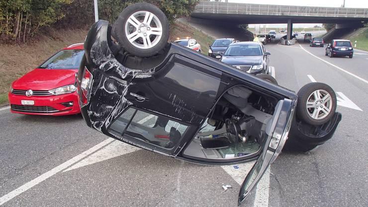 Glück im Unglück: Keine Verletzte bei einem Unfall in Kölliken.
