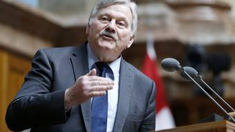 Der Zürcher SVP-Nationalrat Hans Fehr möchte im Gegensatz zu Max Binder und Toni Bortoluzzi weitermachen.