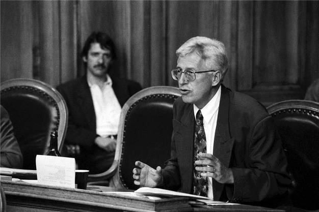 René Rhinow vertrat von 1987 bis 1999 das Baselbiet im Ständerat.