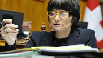 Aussenministerin Micheline Calmy-Rey