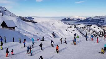 Das Festtagsgeschäft in den Schweizer Skigebieten lief erfreulich, auch auf den Flumserbergen tummelten sich Wintersportler in Scharen.