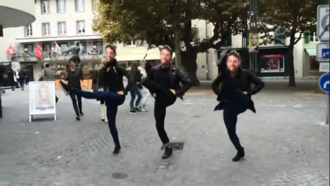 Der Auftritt der «Waldmeier Dance Crew».