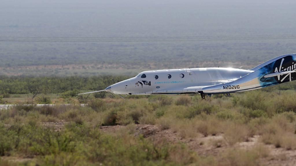 US-Luftfahrtbehörde erlaubt wieder Starts von Branson-Raumschiff