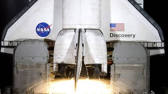Discovery beim Start