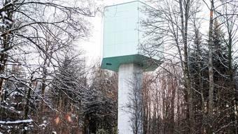 Auf dem Wasserturm in Baldingen ist eine Aussichtsplattform geplant – als neuer Begegnungsort der Fusionsgemeinde Zurzach.