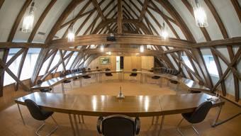 Der Saal des Gemeinderats in Niedergösgen. (Archivbild)