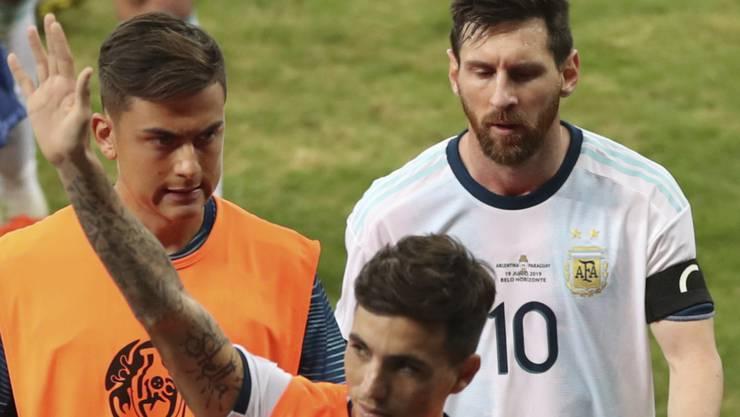 Lionel Messi erlebte eine weitere Enttäuschung mit Argentinien